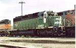 BNSF 7160 (ex-BN)