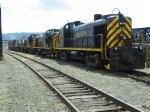 Delaware Lackawana ALCOs lined up