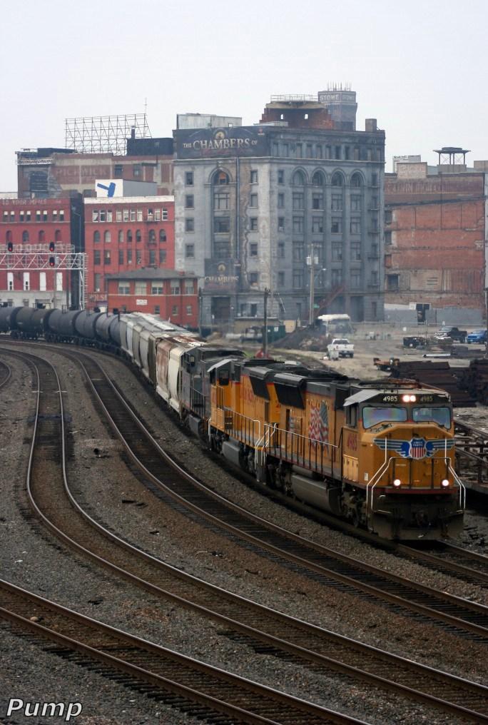 Northbound UP Manifest Train
