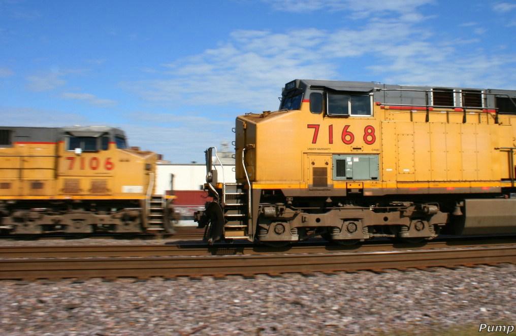 Westbound UP Manifest Train