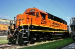 Repainted BNSF 2306 - GP38-2