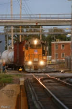 Southbound UP Yard Job Train