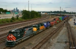 Westbound UP Intermodal Train - UP 1983 - UP 1995 - UP 2002