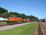 A Pair of BNSF C44-9Power 69Q This Afternoon