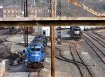 Conrail GP38-2 Edgemoor Yard