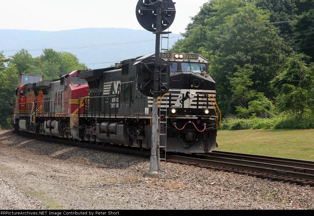 BNSF784, BNSF5448 and NS9769
