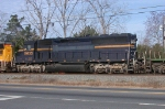 HLCX 9033 on NB freight