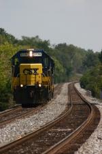 CSX 2736  Train J729