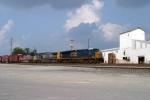 CSX Q275 enters north end of Memphis Jct. Yard