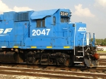 BNSF 2047's extended cab