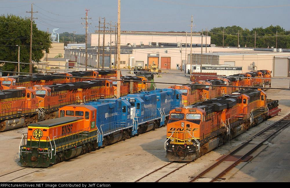 TEBC6 and three ex-GMTX GP38's