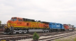 BNSF 4750 power for the local to KC