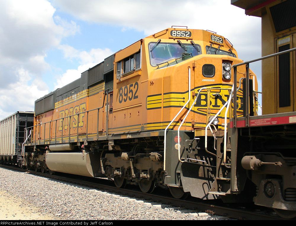 BNSF on the UP
