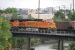 BNSF 7240 Arriving Denver Yard
