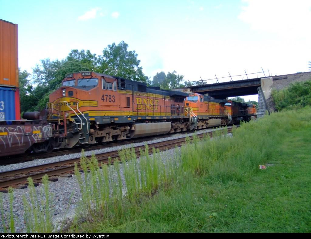 BNSF 4783