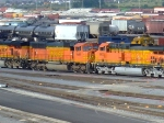 BNSF 9986 and 5603
