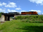 BNSF 9989 and 9560