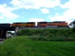 BNSF 9286 and 8899