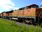 BNSF 544