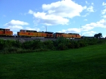 BNSF 4408 and 5042