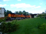 BNSF 7626 and 7531