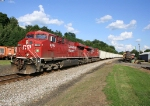 A Pair of Canadian Pacific Gevos on WB 39Z @ 1634h