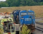 CSX 7326 ex conrail unit sitting at Shops