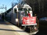 Tri State santa train in Dover