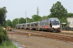 First Trip of NJT Dual Power Loco