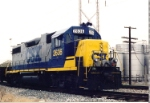 CSX 2636 ready to become local J710