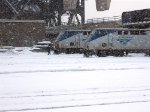 Amtrak power in the snow