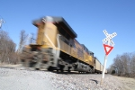 DPU unit on an empty coal train
