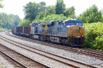 Before that final push into the Port of Baltimore, CSX 795 & 97 Cool their heels