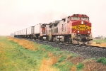 Short Z train heads west