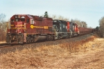 Loaded taconite train