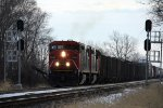 CN 2442, northbound CN train M33571-22