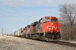 CN 2277, southbound CN train M33681-18