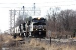 NS 9643, eastbound NS 46Z