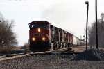 CN 2682, northbound CN train M33571-18