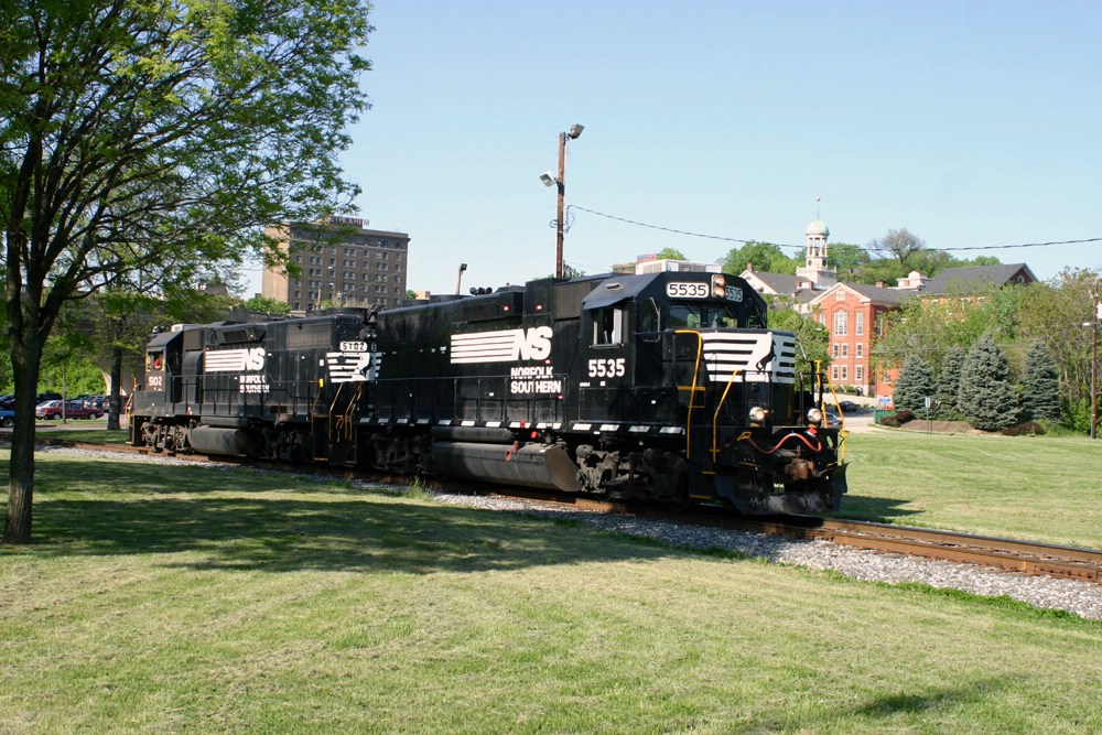 NS 5535 pass through Moravian College