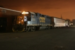 CSX B750 ties down at Mamaroneck