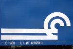 Fresh Conrail logo on unknown caboose.