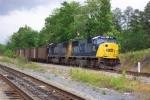 Southbound coal train