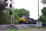 Southbound coal train