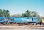 CSXT C36-7 7125