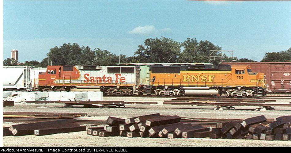 BNSF GP60Ms (ex-ATSF)