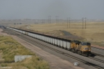 UP 5777 leads a coal load
