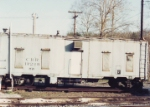 Old Clinchfield crew car at Livingston