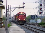 SOO 6029 passing the old Brant St Station