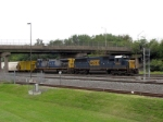 CSX 8660 and 280